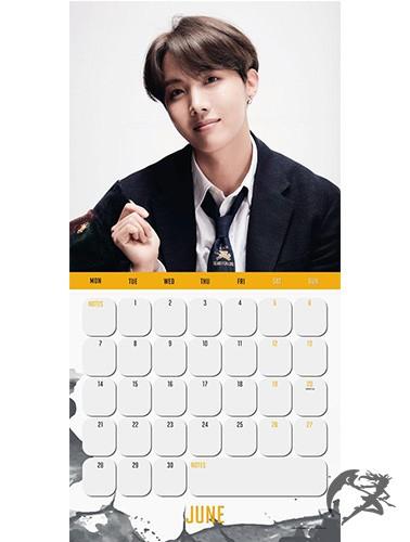 BTS Kalender 2021 english