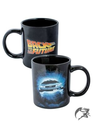 Back to the Future Tasse Logo