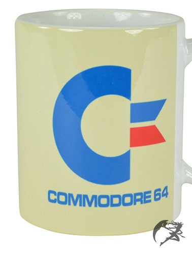 Commodore 64 Tasse white