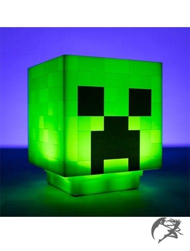 Minecraft Creeper Leuchte