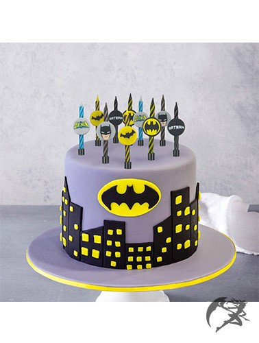 DC Comic Kuchenkerzen Batman