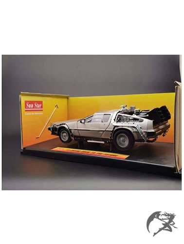 Back to the Future DeLorean Diecast Modell