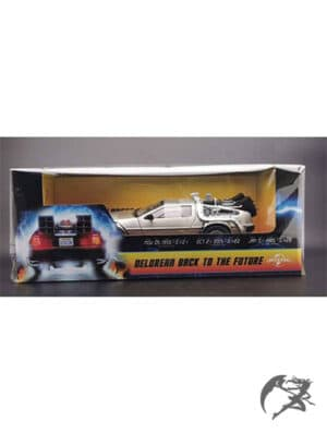 Back to the Future DeLorean Diecast Modell