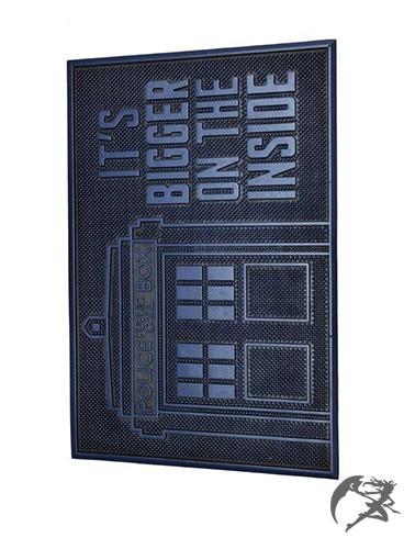 Doctor Who Gummi-Fussmatte
