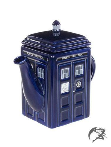 Doctor Who Tardis Teekanne