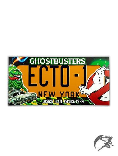 Ghostbusters ECTO-1 Nummernschild