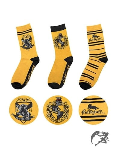 Hufflepuff Socken 3er-Set