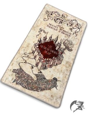 Marauders Map Teppich Harry Potter