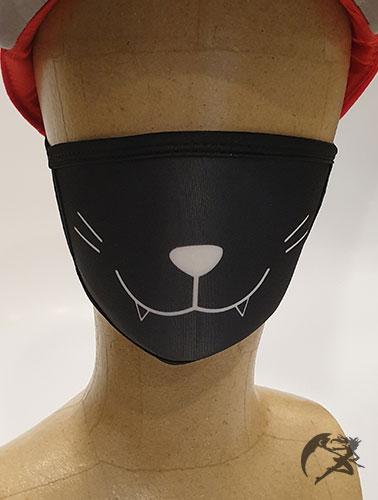 Mund Nasenschutz in Katzenoptik