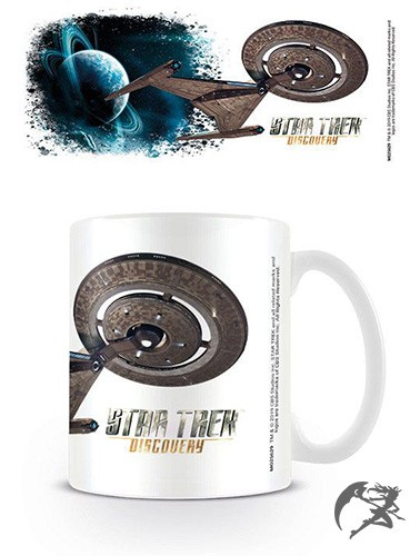 Star Trek Discovery Tasse Ship