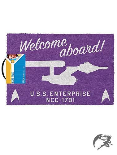 Star Trek Fussmatte Welcome aboard