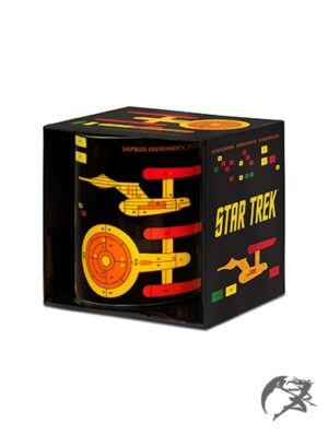 Star Trek Tasse Enterprise Grafik