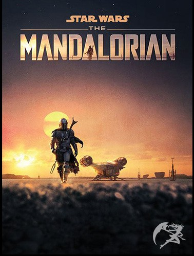 Star Wars The Mandalorian Poster Dusk