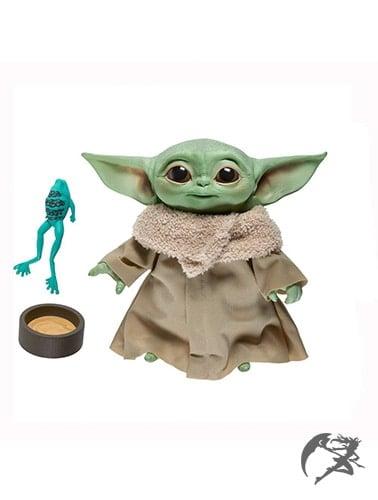Star Wars the Mandalorian The Child sprechende Plüschfigur