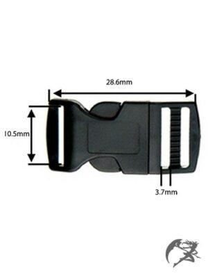 Steckschnalle 10mm