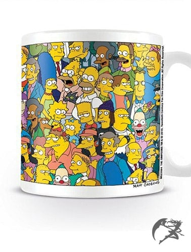Tasse Simpsons Characters