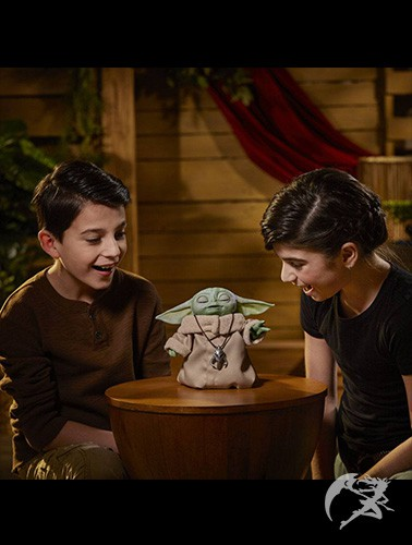 The Mandalorian The Child Animatronic Toy