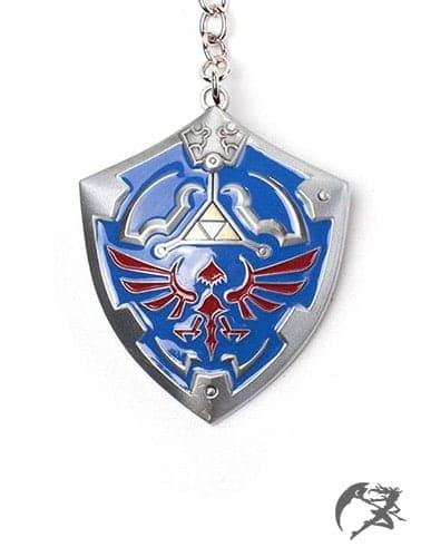 The Legend of Zelda 3d Metall Hylian Schild