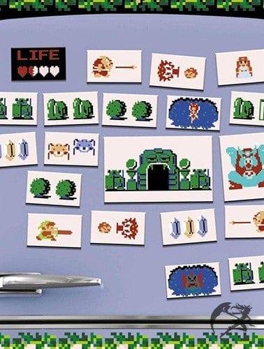 Zelda Magnet Retro Set