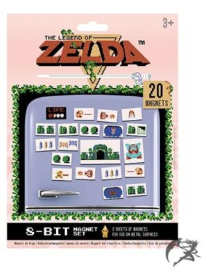 Zelda Magnet Retro Set