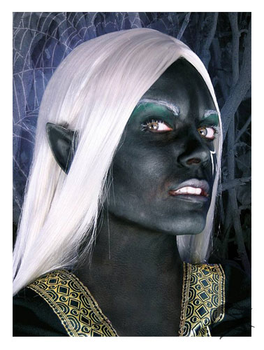 Dunkelelf Ohren aus Latex by Maskworld