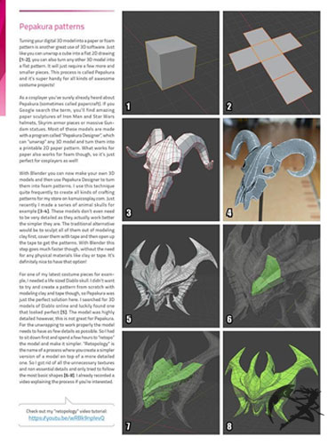 Kamui Cosplay the book of 3D Printing
