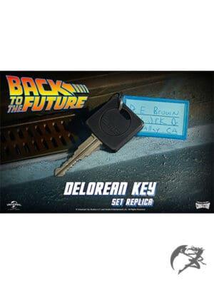 Back to the Future DeLorean Autoschlüssel Replik
