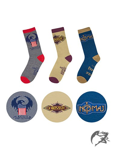 Fantastic Beasts MACUSA Socken