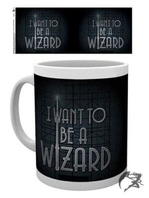 Fantastic Beasts Tasse I-want-to-be-a-Wizard