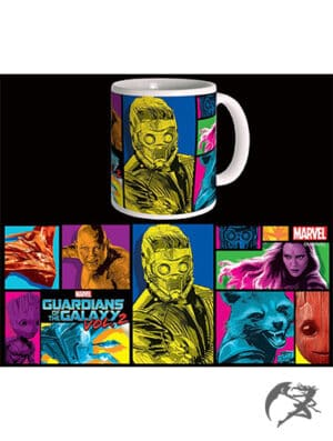 Guardians of the Galaxy Vol2 Tasse Colors