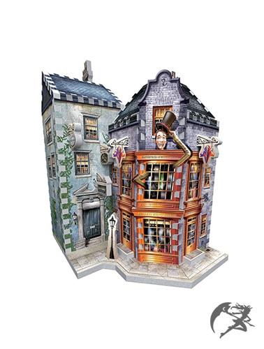 Harry Potter 3D Puzzle DAC Weasleys Zauberhafte Zauberscherze und Der Tagesprophet
