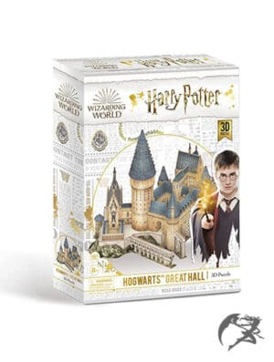 Harry Potter Hogwarts Grosse Halle 3D Puzzle