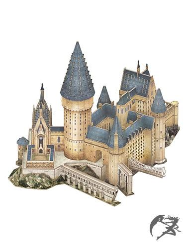 Harry Potter Hogwarts Grosse Halle 3D Puzzle