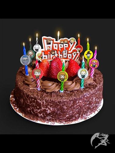 Harry Potter Kawaii Geburtstag Kerzen