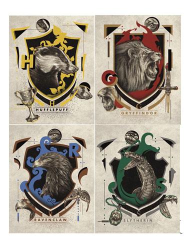 Harry Potter Kunstdruck 36 x 28 cm