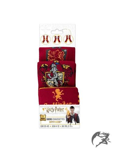 Harry Potter Socken Gryffindor 3er-Pack