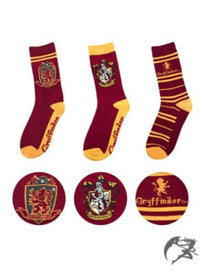 Harry Potter Socken Gryffindor 3er-Pack