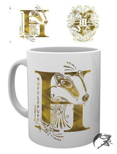 Harry Potter Tasse Hufflepuff Monogram