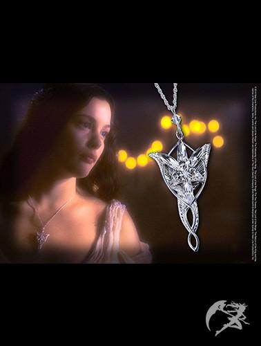 Herr der Ringe Arwens Abendstern Sterling Silber