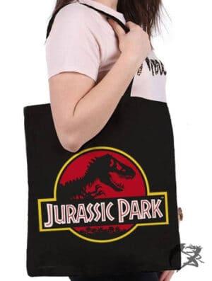 Jurassic Park Tragetasche Logo