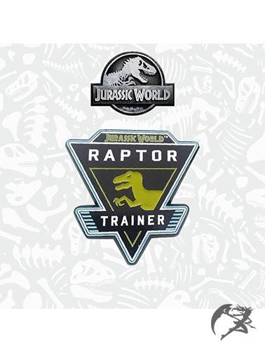 Jurassic World Ansteck Pin Raptor Trainer