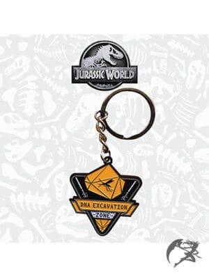 Jurassic World Metall Schlüsselanhänger ltd edition