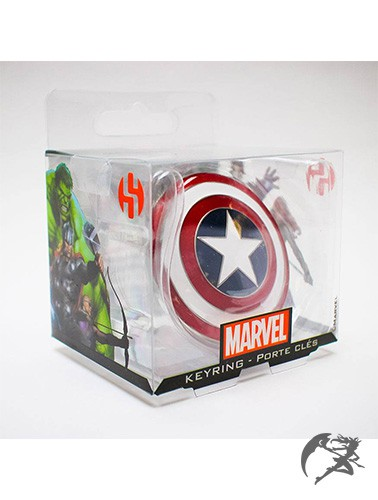 Marvel Captain America Schild Schlüsselanhänger