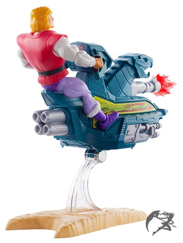 Masters of the Universe Origins 2020 Prince Adam and Sky Sled