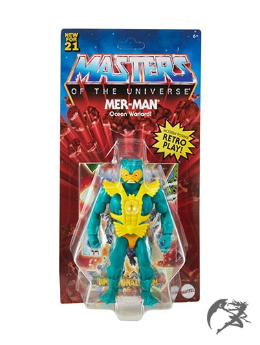 Masters of the Universe Origins 2021 Mer-Man