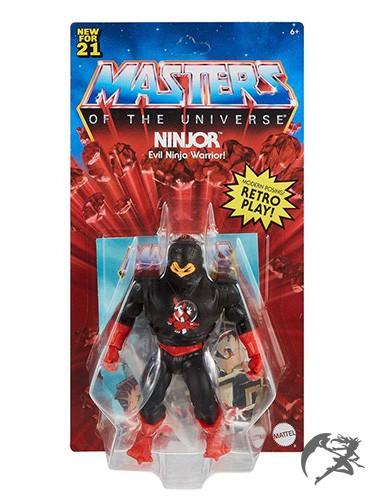 Masters of the Universe Origins 2021 Ninjor