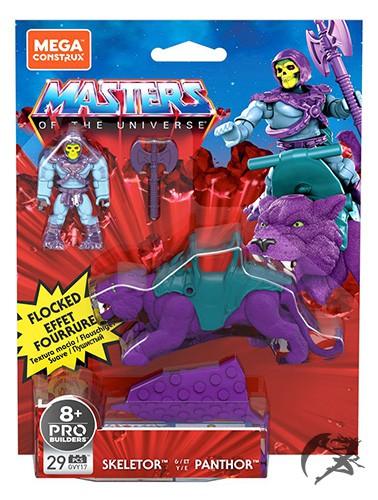 Mega Construx Skeletor und Panthor