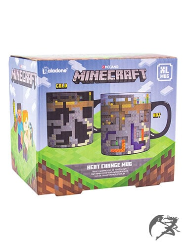 Minecraft Tasse mit Thermoeffekt
