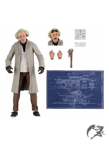 NECA Back to the Future Ultimate Doc Brown