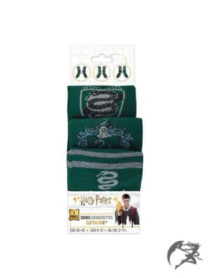 Harry Potter Slytherin Socken 3er Pack
